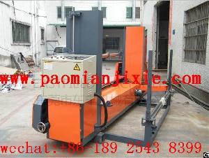 foam peeling machine round block cut sheet roller