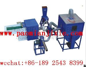 Full Set Of Fiber Carding And Filling Machine
