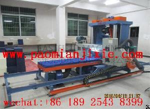 latex foam horizontal cutting machine