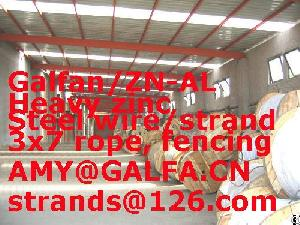 Supply 3x7 Wire Rope / Cable Barrier Astma 741 / Steel Wire Rope