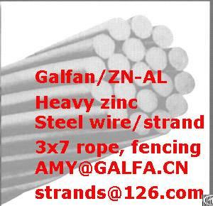 Supply Galfan Wire, Heavy Zinc Wire