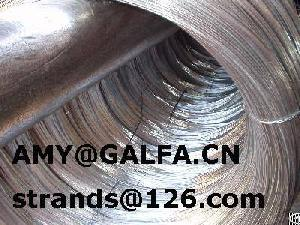Zn-5%al-alloy Coating Galfan Wire And Strand
