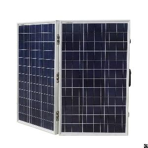 120w 12v foldable monocrystalline solar panel pre installed 15a charge controller