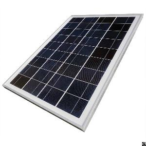 25w 12 volt polycrystalline photovoltaic pv solar panel module