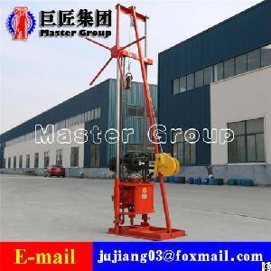 qz 2c gasoline engineering drilling rig sampling machine