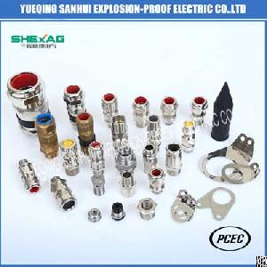 explosion proof armored cable glands