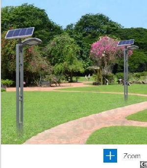 12w solar garden light