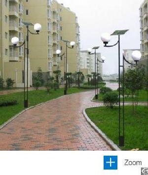 3 5m arm solar garden light video