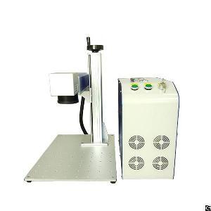 Maxphotonics Laser Source 20w Fiber Laser Marking Machine For Stainless Steel Sliver Gold Copper