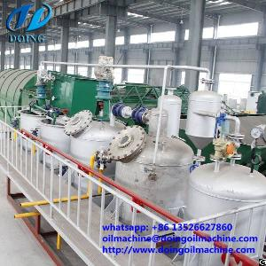 scale palm kernel oil refining plant crude refinery