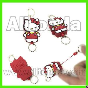 Cartoon Cute Promotional Easy To Pull Buckles For Keys Certificate Storage