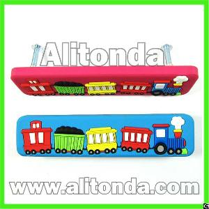 Promotional Soft Pvc Children Door Drawer Cabinet Cartoon Cute Handle And Pulls