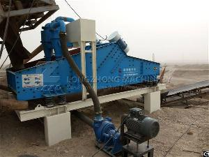 De-watering Type Sand Recycling System