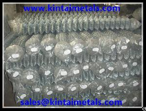 Galvanized Chain Link Fence / Cyclone Fence / Diamond-mesh
