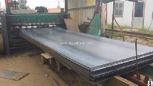 open flat steel plate