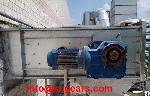 S57 Helical Coaxial Gear Motor