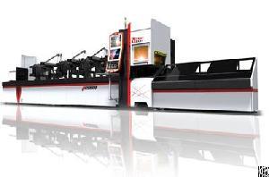 Golden Laser P2060a Tube Fiber Laser Cutting Machine For Steel Furniture Fabrication