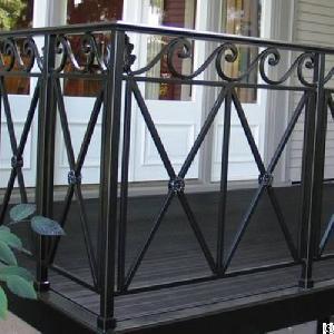aluminum balcony guardrail