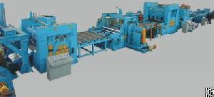 steel slitting line machine
