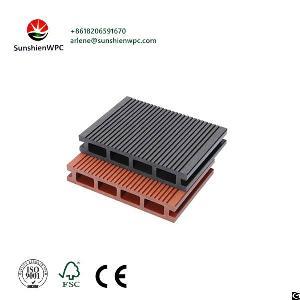 sunshien wpc supplier composite decking flooring