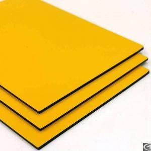 gloss aluminum composite panel