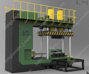 hydraulic elbow forming machine