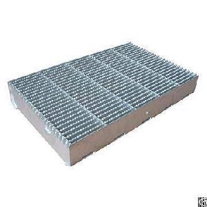serrated steel bar grating manufactor