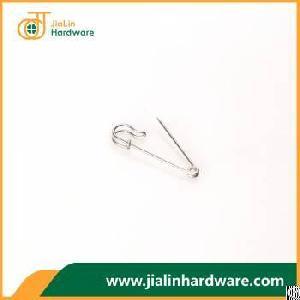 brushed nickel brass safety pin 35mm 1 0mm short brooch