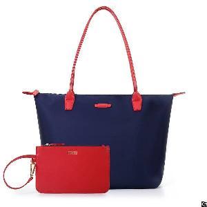 womens nylon handbag anti wrinkle beach travel shoulder tote bag
