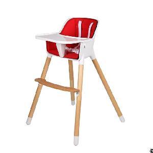 nordic baby chair wooden leg feeding