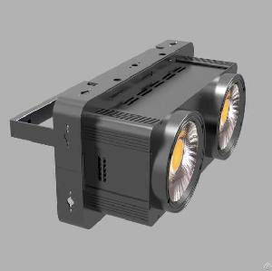 100w x 2 cob warm led blinder light