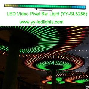 led video pixel bar light stage vivid