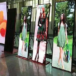 p2 5 led poster advertising display screen