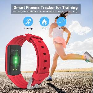 Funbravo Bluetooth Smart Fitness Wristband Activity Tracker Sw188 For Women Gifts