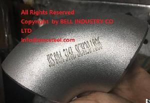 jis b2311 stainless steel sus316l elbow