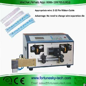 Automatic Flat Ribbon Cable Strip Cut Split Machine