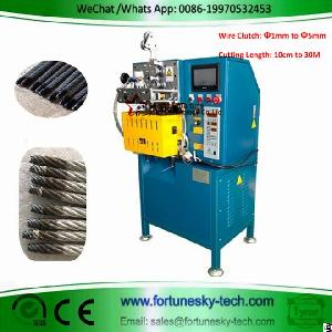 Fully Automatic Wire Clutch Rope Cutting Sealing Machine