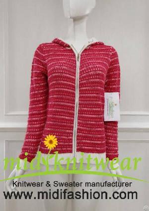 womens knitted sweater cardigan coat knitwear zhejiang midi fashion co