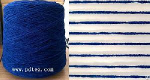 Fire Retardant Polyester Chenille Yarn For Upholstery Fabric