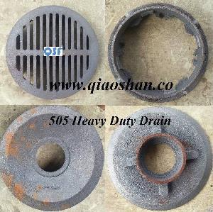 z505 12 inches cast iron heavy duty drain
