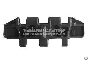 crawler crane kobelco ck2500 track pad shoe plate