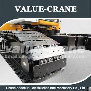crawler crane link belt ls118 track shoe heat treated pad