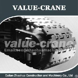 kobelco ph7050 track pad crane undercarriage zhaohua
