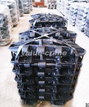 scx1500 2 track shoe crawler crane heat treated pad