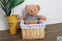 handmade wicker laundry basket lid