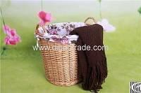 handmade wicker storage basket willow laundry lining