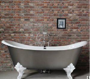 slipper cast iron bath tub yx 008