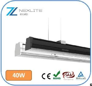 1200mm 40w 160lm / W Led Linear Trunking System 5 Years Warranty