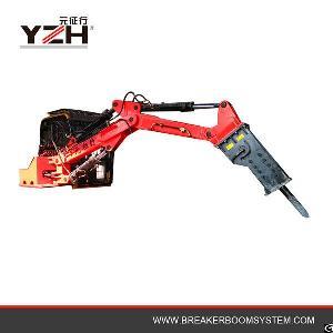 factory manufacture hydraulic rock breaker boom system jaw crusher