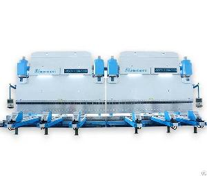 2wek cnc tandem press brake bending machine